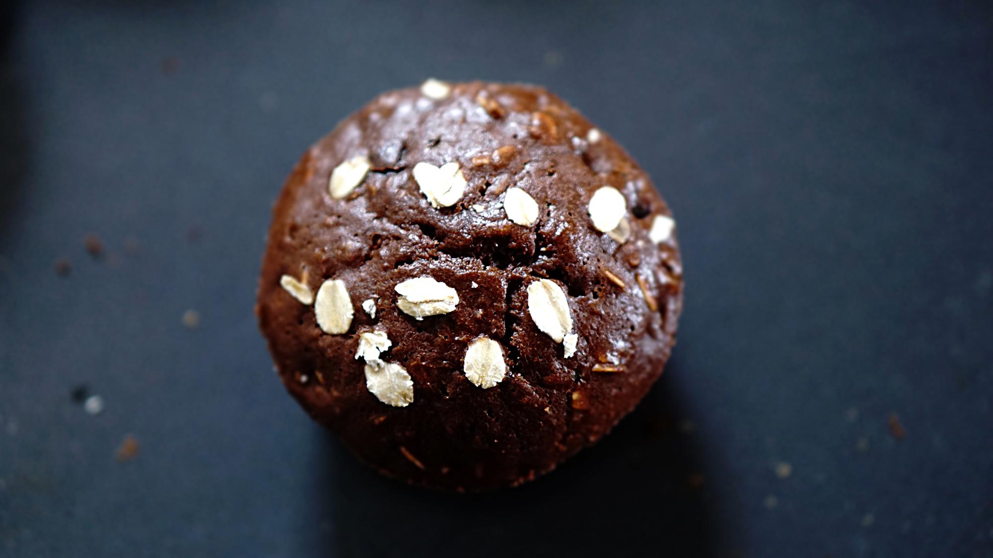 muffin al cioccolato proteici