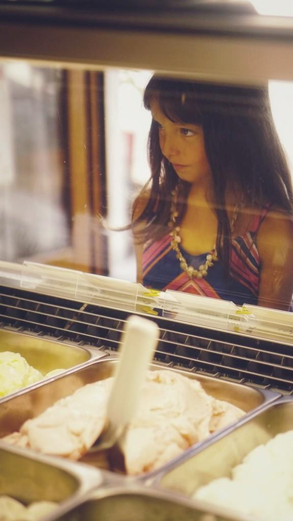 Bambina gelato limone